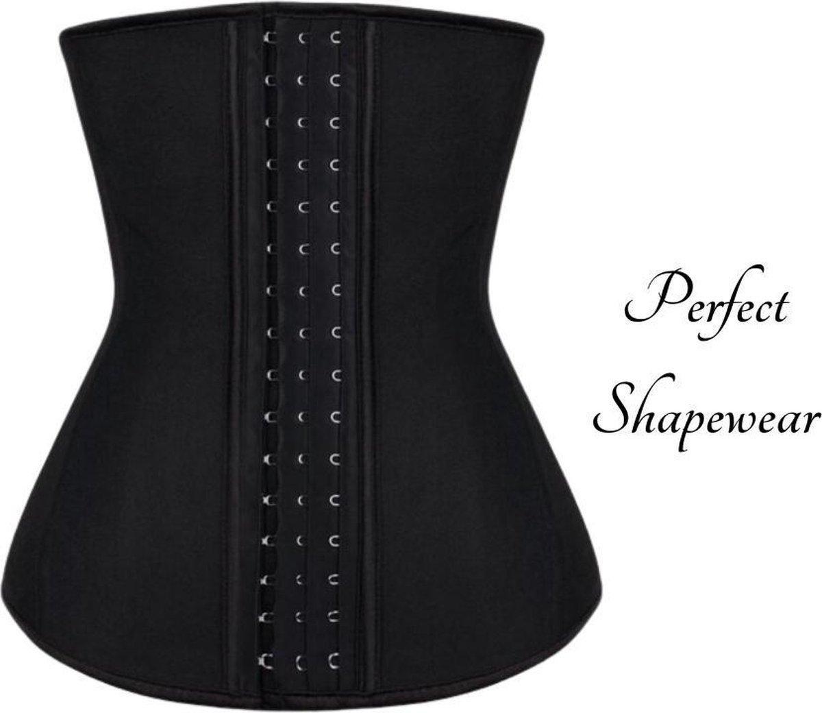 Perfect Shape Waist Trainer   Maat L   Latex Body Shaper voor een Slanke Taille & Zandloper figuur