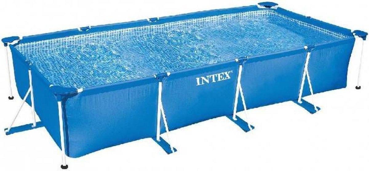 Intex Rechthoekig Frame Zwembad 300x200x75CM