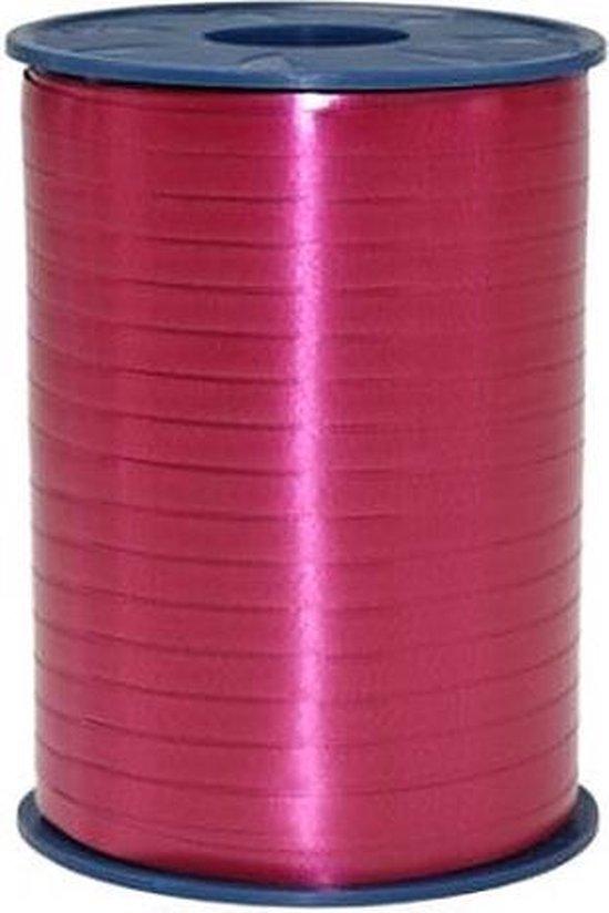Bordeaux Rood Lint 5mm 500m
