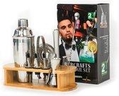 Barcrafts Cocktailset - 16 delig