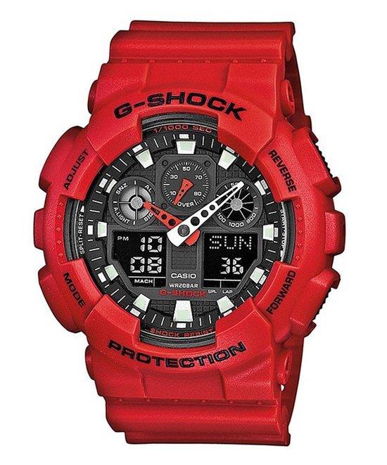 Casio G-Shock Heren Horloge GA-100B-4AER - 51 mm