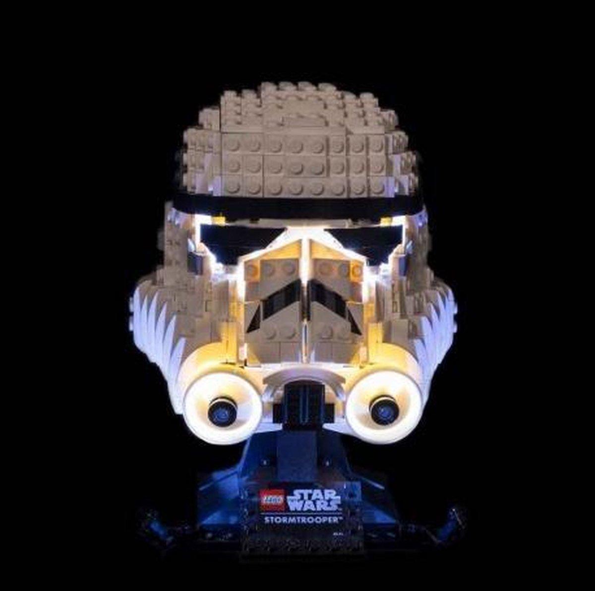Light My Bricks LEGO Stormtrooper Helm 75276 Verlichtings Set