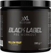 XXL Nutrition Black Label - Pre Workout Yellow Fruit 390 gram