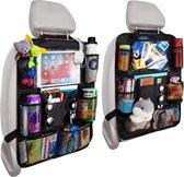 Venneweide, Autostoel organizer de luxe, Auto organizer voor baby en kids, met tablethouder voor o.a. iPad