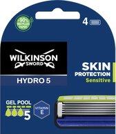 Wilkinson Sword Hydro 5 Scheermesjes Skin Protection Sensitive 4 stuks