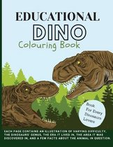 Educational Dino Colouring Book