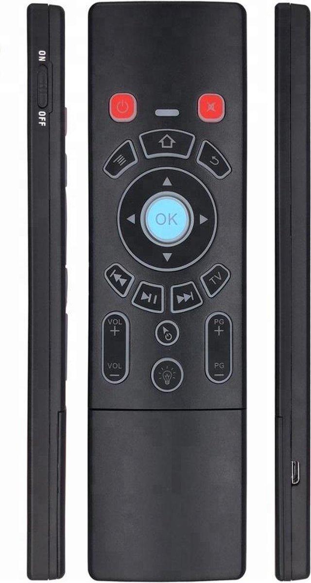 Remote Control Afstandsbediening – mini-toetsenbord – Android TV box Windows / Android – USB-ontvanger – Muis