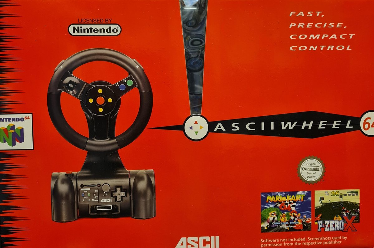 Ascii Wheel /N64