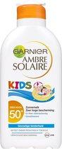 Garnier Ambre Solaire Kids zonnebrandmelk SPF 50+ - Zonnebrand voor de kinderhuid - 200 ml