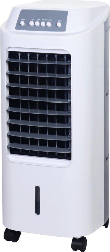GoodVibes - 6 Liter Mobiele Aircooler / Ventilator met koelelementen - zonder afvoerslang