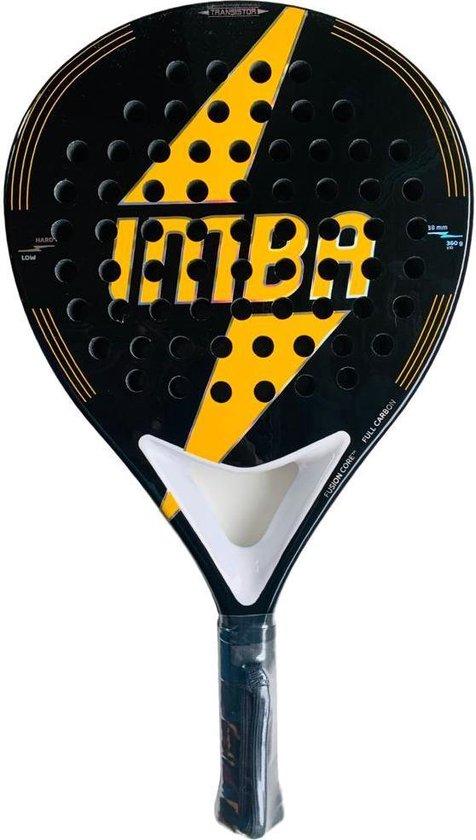 MOLIO - Padel racket - Full carbon - Oranje/zwart