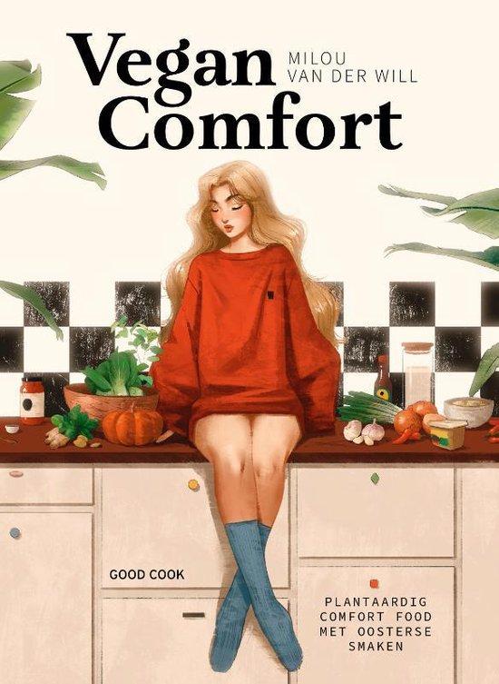 Boek cover Vegan Comfort van Milou van der Will (Hardcover)