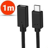 Vues USB-C 3.1 Verlengkabel - 1 Meter - Ondersteund 4k 60HZ - USB type C - Female naar Male adapter kabel - Data + Opladen
