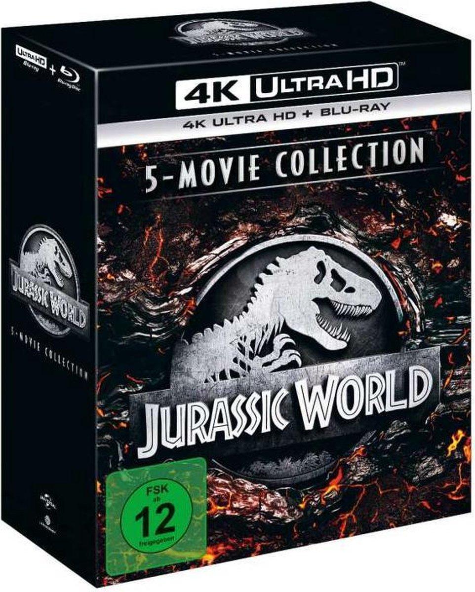 Jurassic World - 5-Movie Collection (Ultra HD Blu-ray & Blu-ray)-