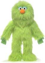Handpop Groene Monster 14'' Sillypuppets