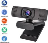 Nince premium webcam van hoge kwaliteit - 1080P FULL HD 30 FPS - Ingebouwde Mic met Ruisonderdrukking - Windows & Apple Compatible - PC / Laptop
