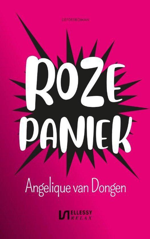 Boek cover Roze paniek van Angelique van Dongen