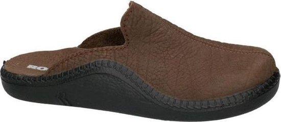 Romika -Heren -  bruin - pantoffel/slippers - maat 41