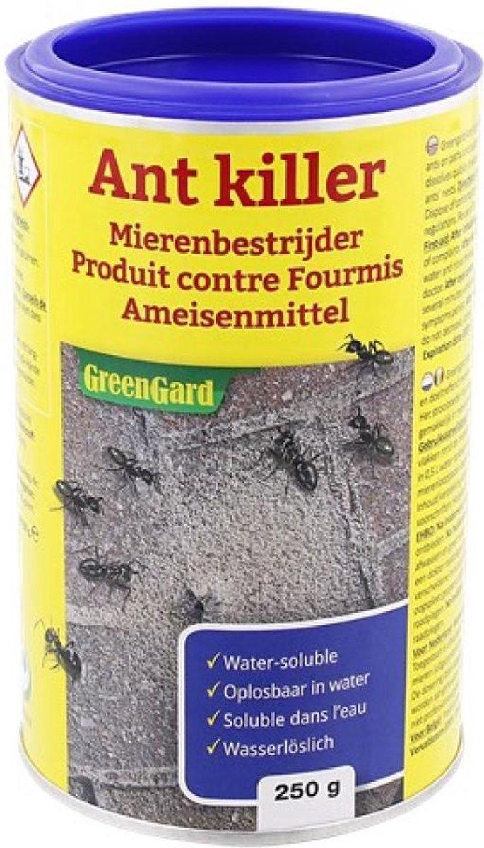 Mierenpoeder - Mieren - Bestrijden - 250 Gram - Voordeel - GreenGard - Mierengif - Tegen Mieren - On