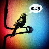 BANKSY Blow Your Horn Little Bird Canvas Print