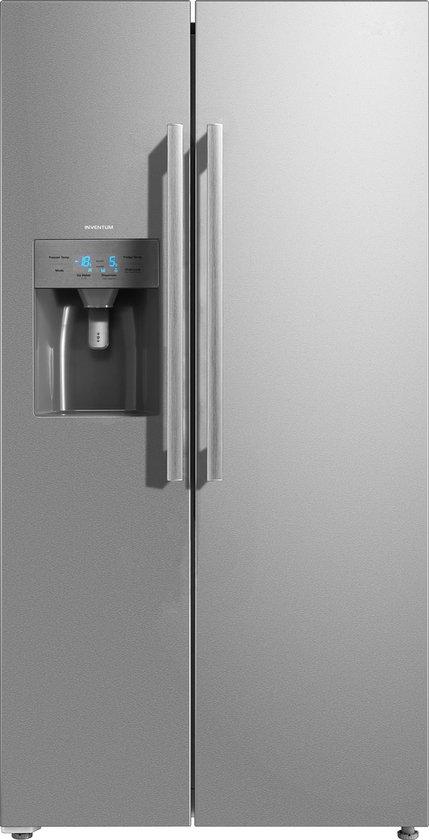 Koelkast: Inventum SKV1782RI - Amerikaanse koelkast - RVS, van het merk Inventum