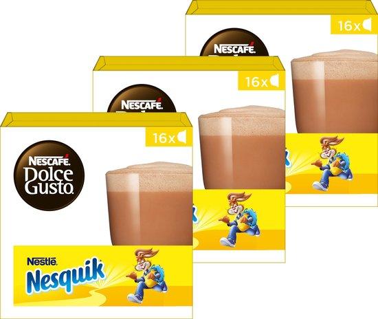 NESCAFÉ® Dolce Gusto® Nesquik - 3 doosjes à 16 capsules geschikt voor 48 koppen