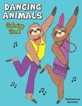 Dancing Animals Coloring Book