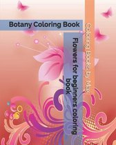 Flowers for beginners coloring book