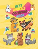 Best animal coloring book for kids: Best coloring book