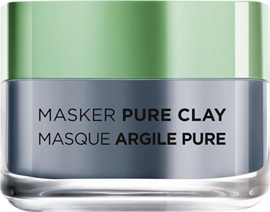 L'Oréal Paris Detoc Pure Clay Gezichtsmasker - 50 ml - Stralende Huid