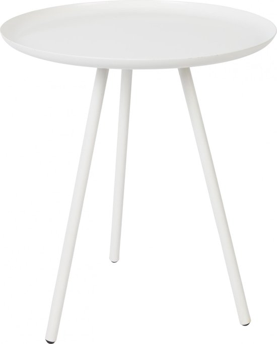 Vestbjerg - SIDE TABLE FROST WHITE - wit