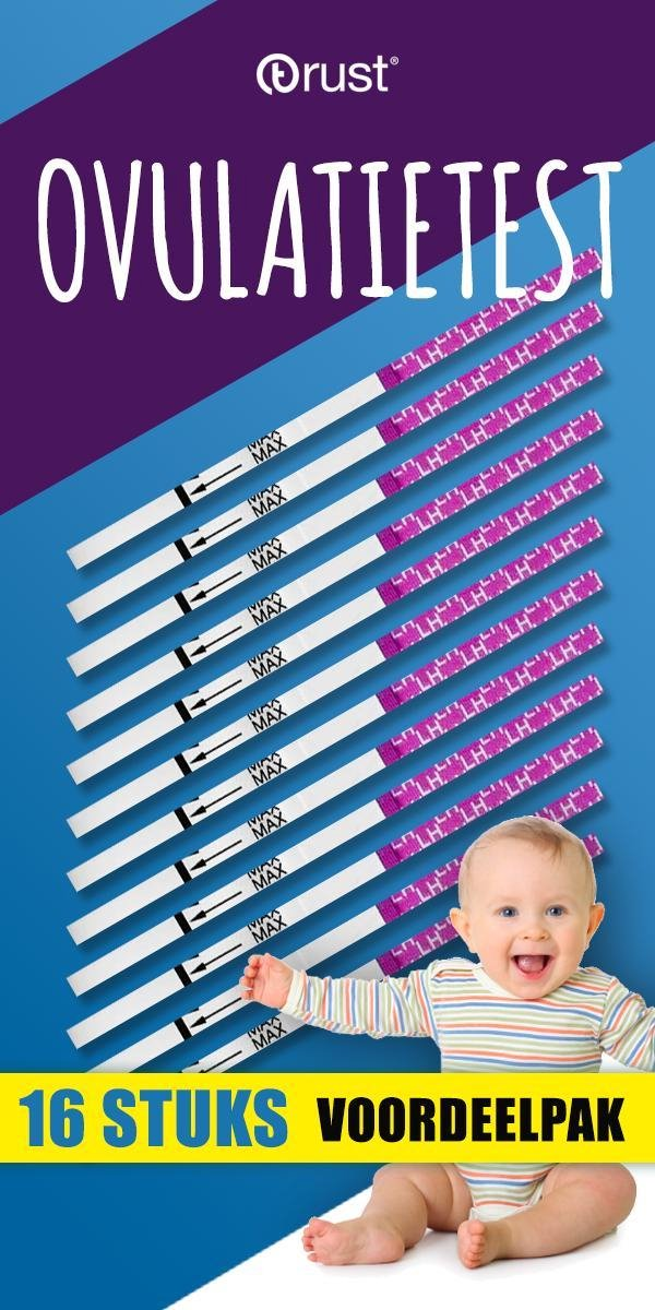 Ovulatietest - Dipstick - Zwanger worden - Zwanger - Baby - Testen - Thuistest - Hulpmiddel zwanger