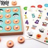 Memory Spelletjes 4 Jaar Gezelschapsspel Kinderen 3 Jaar Houten Puzzel Jonge Kinderen Educatief Speelgoed 4 Jaar – WoodyDoody