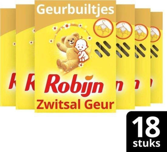 Robijn Zwitsal Geurbuiltjes - 18 Stuks