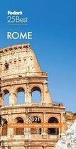 Fodor's Rome 25 Best 2021