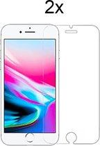 Apple iPhone SE 2020 Screenprotector Glas - 2 x Tempered Glass Screen Protector