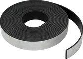 AWEMOZ® Magnetisch tape – 5 meter – Magneetstrip – Magneetband - Zelfklevend - Zwart