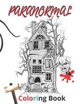 paranormal coloring book
