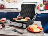 SILVERCREST® 3-in-1 contactgrill -  paninigrill en bij openklappen ook een tafelgrill 2000W - Tosti ijzer - grill -