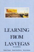 Boek cover Learning From Las Vegas van Robert Venturi (Paperback)