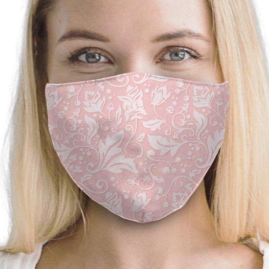 Premium design mondkapje met actieve antibacteriële zilvermembraan