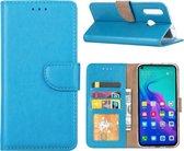Huawei Nova 4 - Bookcase Turquoise - portemonee hoesje