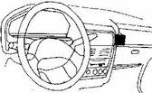 Houder - Dashmount Peugeot 106 1992-1997