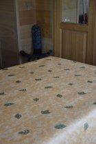 Zomerse Tafellakens - Tafelzeil - Tafelkleed - Duurzaam - Waterafstotend - Gemakkelijk in onderhoud - Opgerold op dunne rol - Geen plooien - Bladeren Geel - 140cm x 160cm