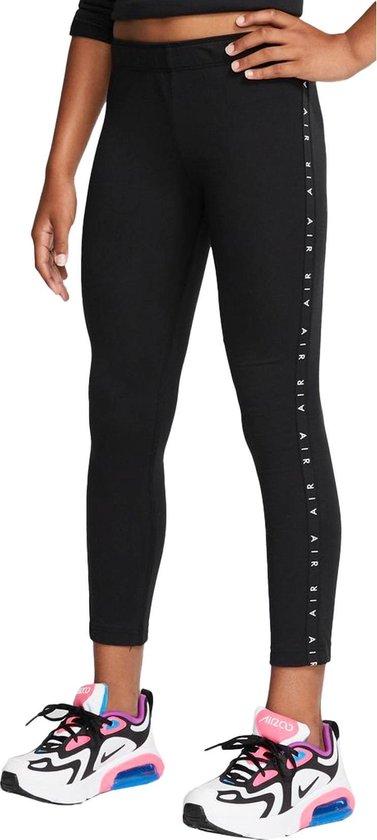 Nike Air Sportlegging - Maat M  - Vrouwen - zwart/wit