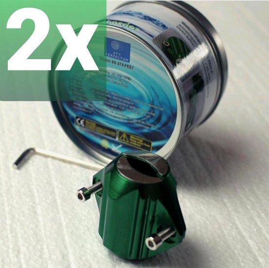 ATV PRO 2 Waterontharder BUNDEL 2 Stuks - Magnetisch - 15.000 GAUSS - Water ontharder waterleiding - Anti Kalk - Waterontkalker magneet