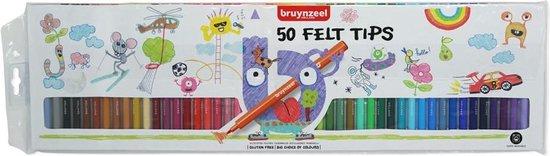 Afbeelding van Bruynzeel Kids 50 viltstiften