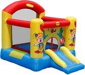Happy Hop Large Clown Slide and Hoop Bouncer - Springkussen
