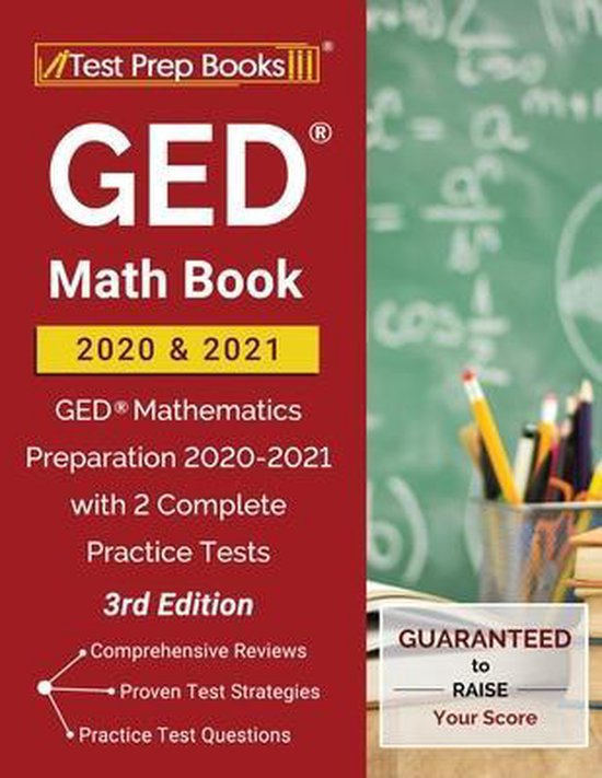 GED Math Book 2020 and 2021