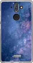 Nokia 8 Sirocco Hoesje Transparant TPU Case - Perfect Stars #ffffff